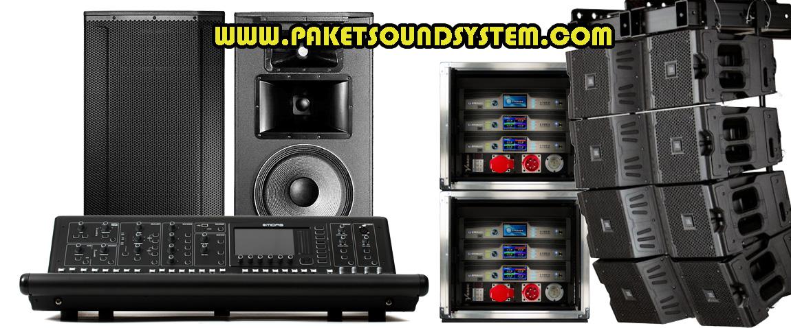 Solusi Paket Sound System Profesional Tepat Guna