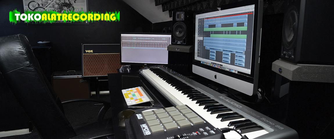 Solusi Paket Alat Recording Audio Digital